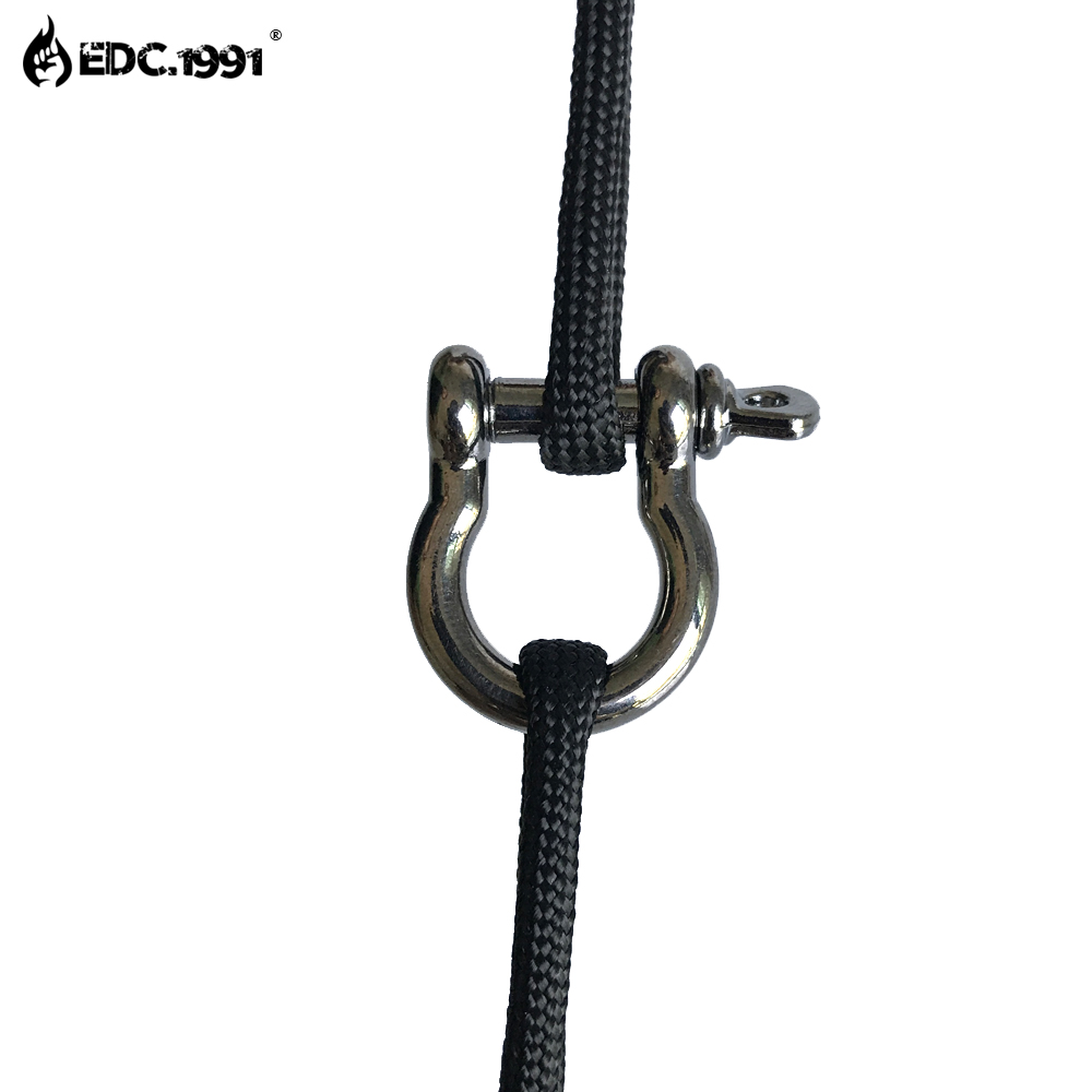 10Pcs Mini Screw Lock Carabiner Snap Hook Clip Carabiner Snap Spring Clip Hook Keychain EDC Survival Camping Travel Kits in Outdoor Tools from Sports Entertainment