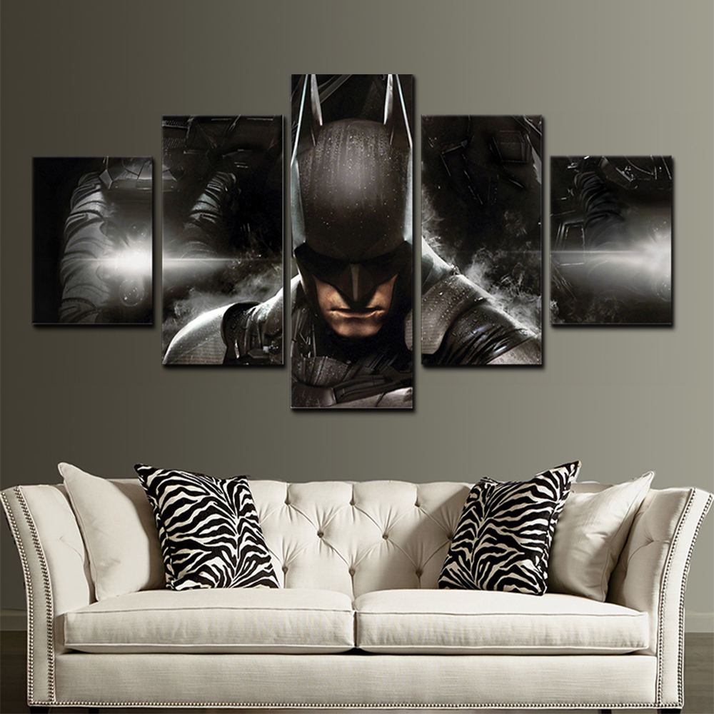 Unframed HD Canvas Prints Batman Giclee Wall Decor Prints Wall Pictures For Living Room Wall Art Decoration Dropshipping