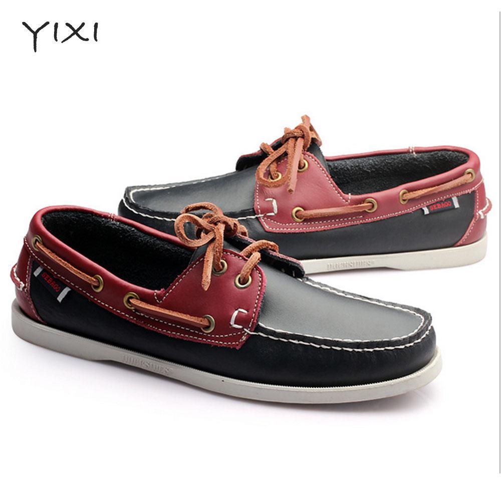 2017 Marca de Lujo de Los Hombres Zapatos de Los Planos Transpirable Zapatos Cas