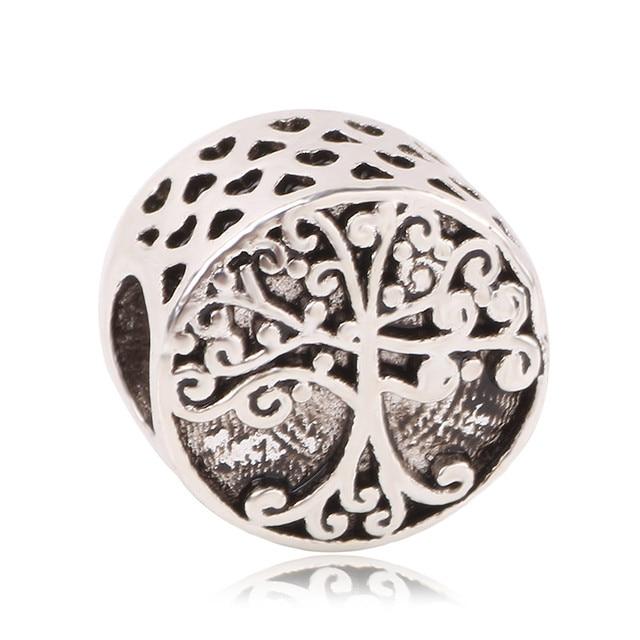 New Free Shipping Silver Plated Bead Mickey Fairytale Animal Love Charm Fit Original Pandora Bracelet Necklace DIY Women Jewelry
