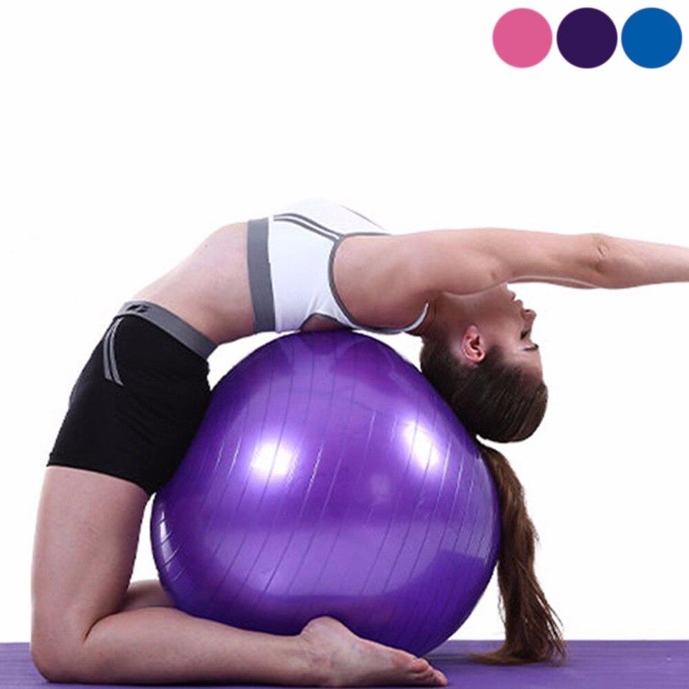 @1  Yoga Ball Толстый Взрывозащищенный Массажный Мяч Прыгающий Мяч Гимнастические Упражнения Фитнес Yoga ①