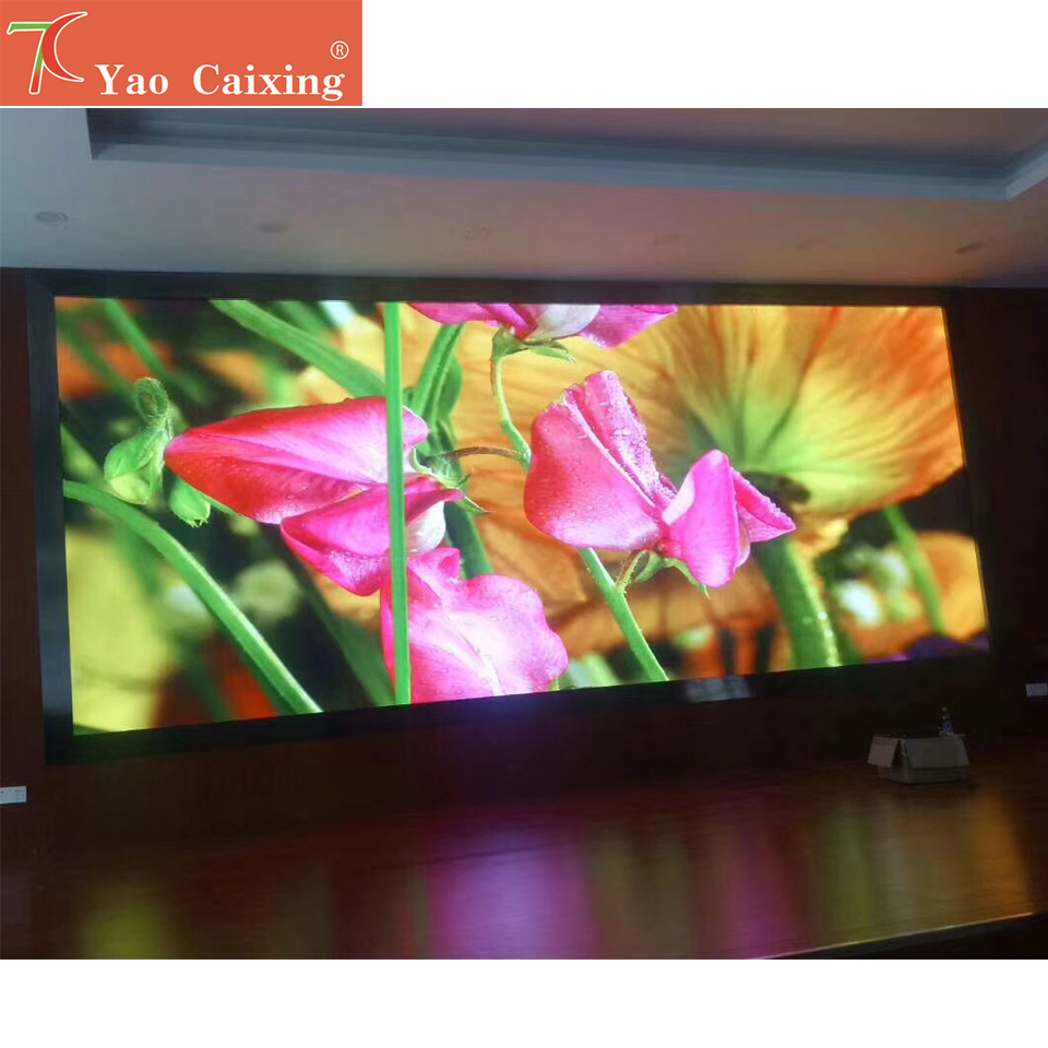 P2.5 Rgb Indoor Full Color Dot Matrix Led Screen Smd Led Video Wall Fix Installation Hd Led Display