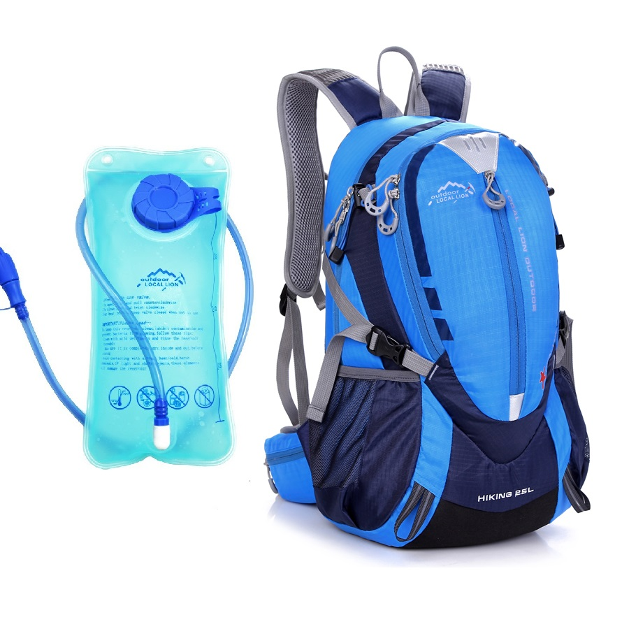 ФОТО Outdoor Camping Bag Riding Sport Backpack AND 1.5L Water Bag