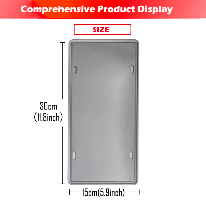 [inFour+] WRV-269 License Plate Metal Plate Car Number Tin Sign Bar Pub Cafe Home Decor Metal Sign Garage Painting Plaques Signs