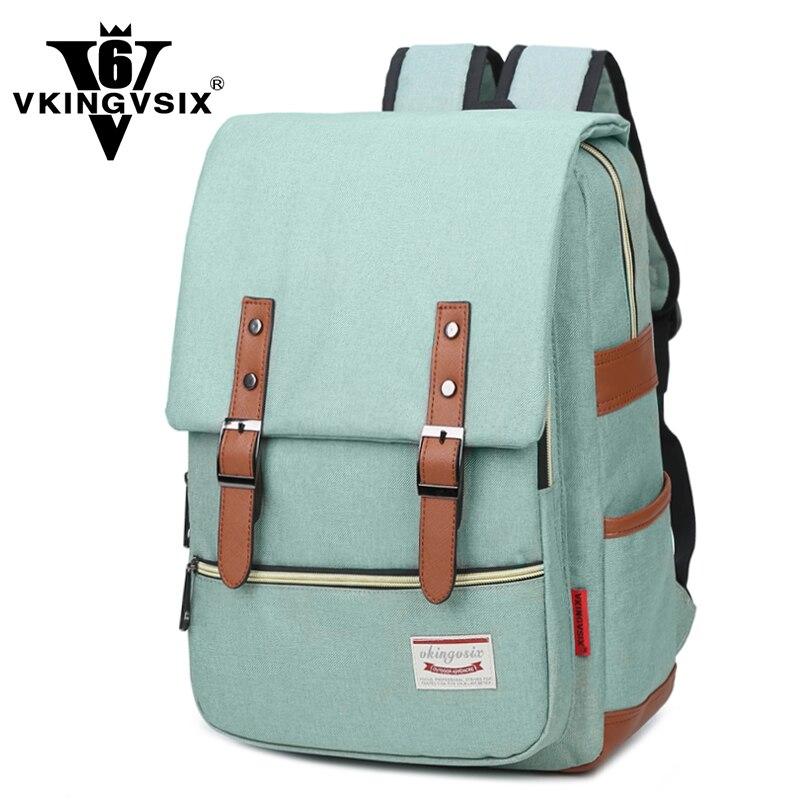 VKINGVSIX Oxford mochilas para sacos de escola para adolescentes menina menino À Prova D' Água mini laptop feminino mochila mulheres mochila saco um dos