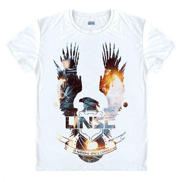 Short Shirt Men Game Halo 5 Sleeve Quality O Free Unsc High Neck T xrBdeCo