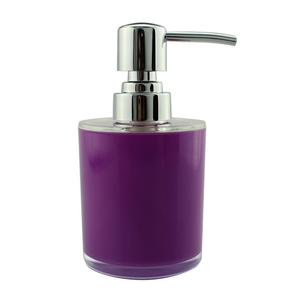 Acrylic Lotion Liquid Soap Dispenser Pump Bottle Kitchen Bathroom ...