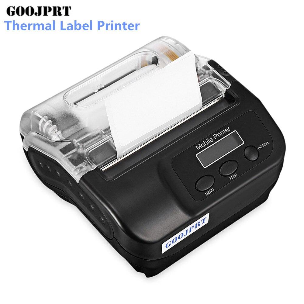 Goojprt Sp400 80mm Bluetooth Tragbare Thermische Label Drucker Aufkleber Druck Maschine Thermische Drucker Für Windows Android Ios
