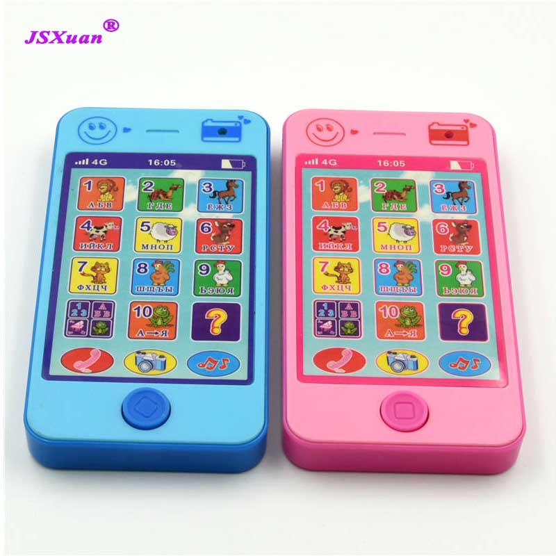 Kids Simulator Music Toy Cell Phone Touch Screen Educational Learning Gift TY