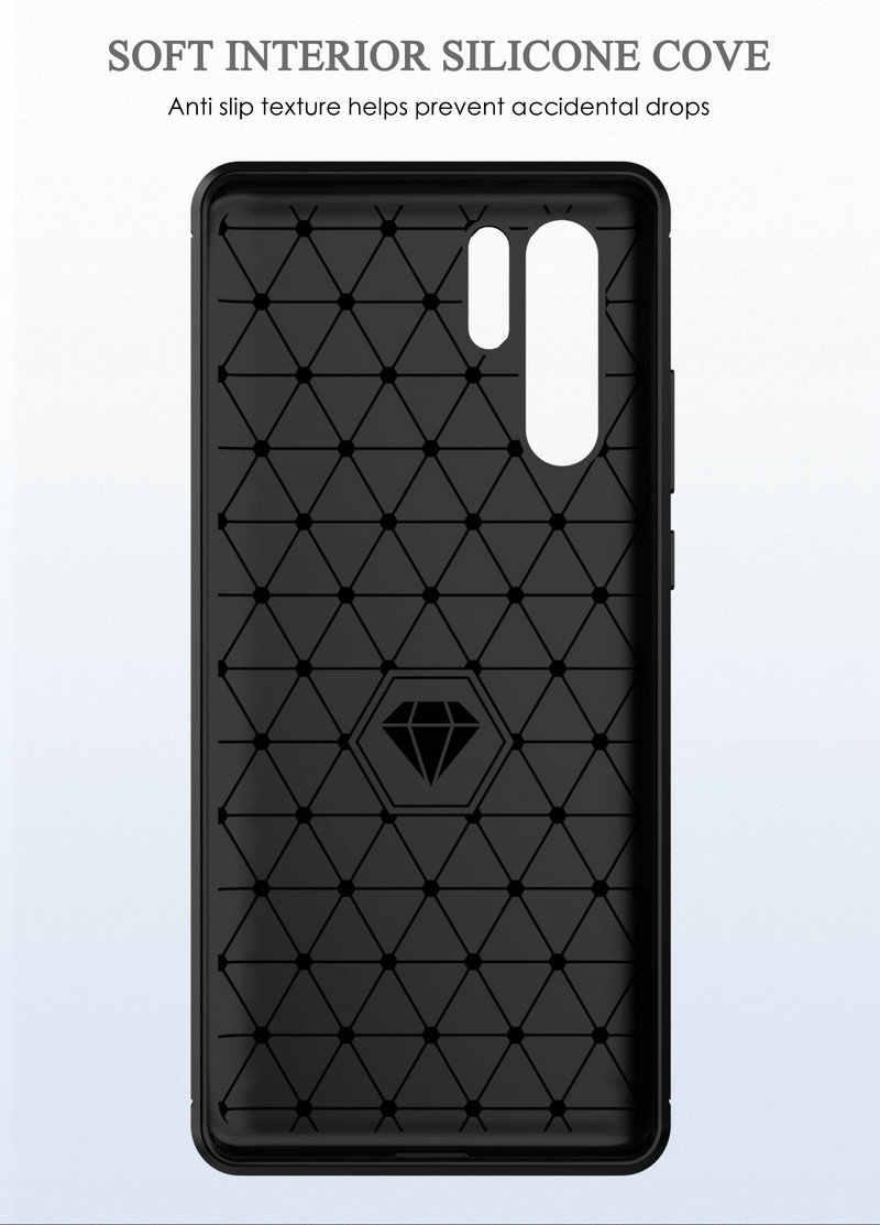 Armatura Della Copertura di Caso per Huawei P30 Pro VOG-L29 VOG-L09 per Huawei P30 ELE-L09 ELE-L29 P30 lite Antiurto copertura Posteriore Del Telefono caso>