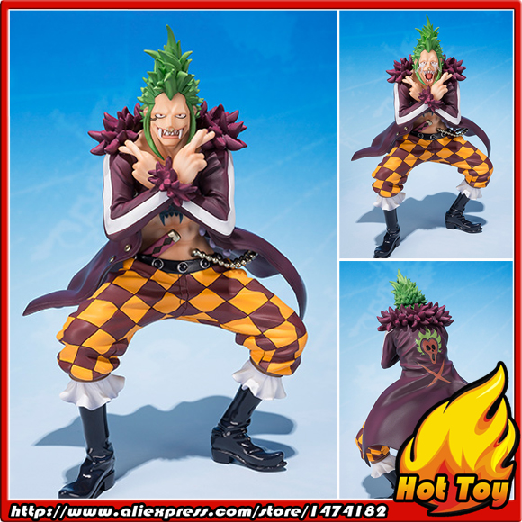100% Original BANDAI Tamashii Nations Figuarts ZERO Exclusive Collection Figure - Bartolomeo from ONE PIECE 100% original bandai tamashii nations s h figuarts shf exclusive action figure garo leon kokuin ver from garo