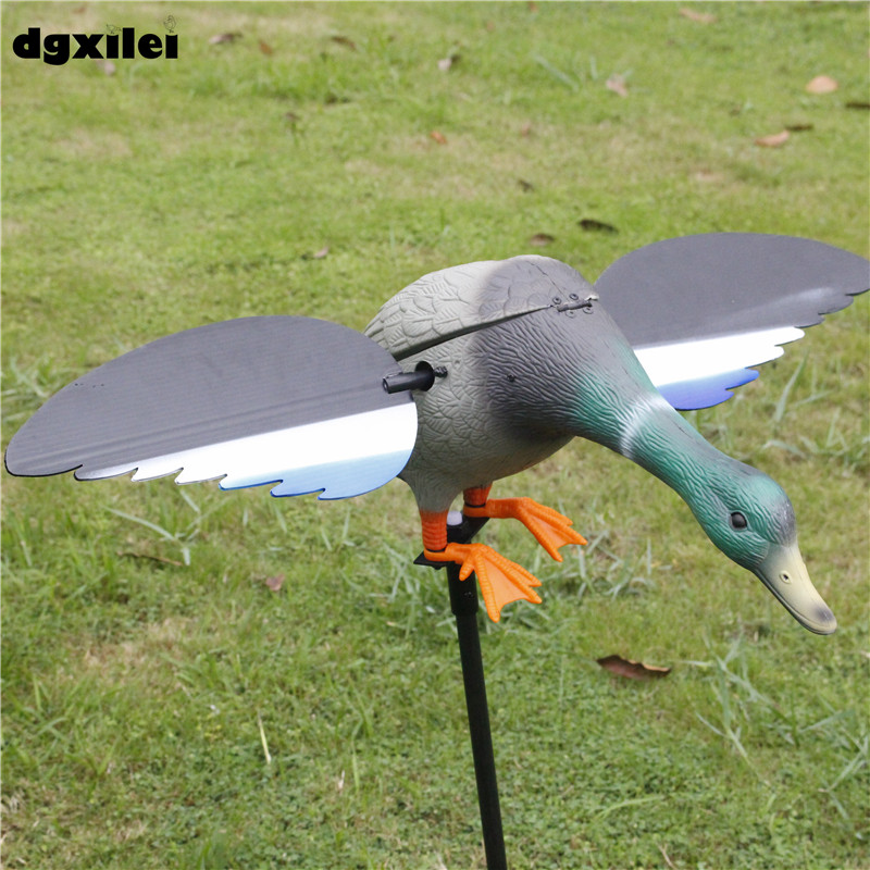 Factory Wholesale Eco-Friendly Plastic Mallard Drake 4*AA Battery Electronic Decoy With Magnet Spinning WingsFactory Wholesale Eco-Friendly Plastic Mallard Drake 4*AA Battery Electronic Decoy With Magnet Spinning Wings