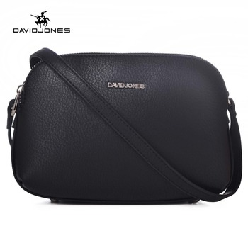 Davidjones Women Handbags Pu Leather Female Messenger Bags Smart Lady Casual Shoulder Bag Brand Crossbody