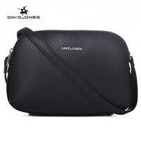 DAVIDJONES Multi Pocket Crossbody Purse Bag Women Small PU Messenger Bags Female Crossbody Shoulder Bags Mini