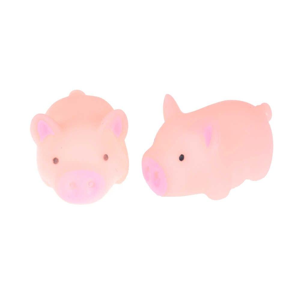 1 предмет; Новинка; милая розовая свинка гелевый мягкий при нажатии Забавный подарок игрушка для малыша для снятия стресса ослабитель декоратора антистрессовые игрушки