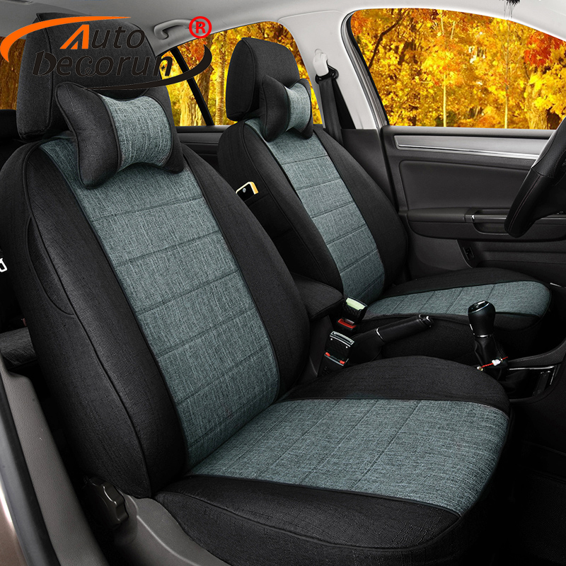 US $290 08 51% OFF|AutoDecorun Custom Seat Cover for Peugeot 3008  Accessories Car Seat Covers Linen Fabric Auto Cushions Seats back Support  Covers-in