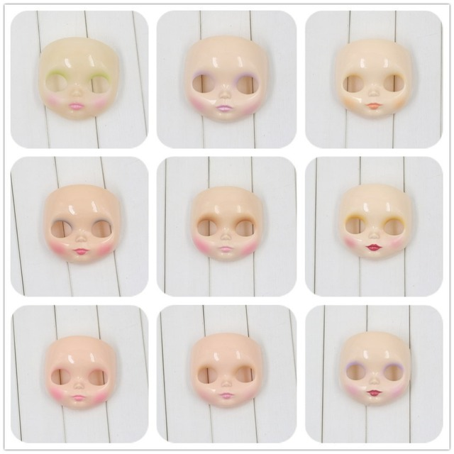 Factory Neo Blythe Doll Faceplate RBL Mold Makeup Applied 15 Styles Free Gifts