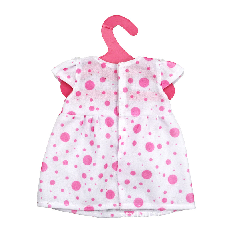 8bfb5245b Fit for 43cm Baby Doll Dress Clothes Doll Accessories Red Points Princess  Dress New Fashion Child Best Gifts-in Dolls Accessories from Toys   Hobbies  on ...