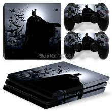 Black PS4 Pro Консольный стикер для Sony PlayStation 4 Pro Decal