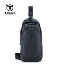 BULLCAPTAIN 2018 Fashion Genuine Leather Crossbody Bag men famous Brand large capacity men sling chest bag Male messenger Bags цена