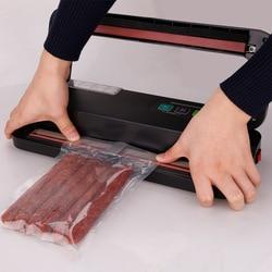 ShineYe Househlod żywności uszczelniacz próżniowy pakowarka Film uszczelniacz pakowacz próżniowy dać darmowe torebki próżniowe dla K przechowywania żywności w Próżniowe przechowywanie żywności od AGD na