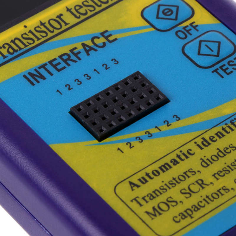 M328 многоцелевой Транзистор тестер диод резистор Esr емкость Lcr метр Портативный компонент