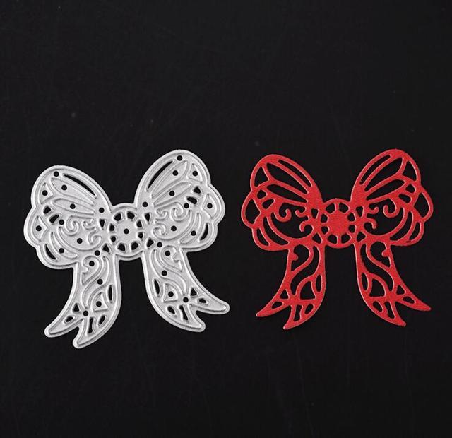 Bowknot Cutting Dies Stencils for DIY Scrapbooking/photo album Decorative Embossing DIY Paper Cards B073