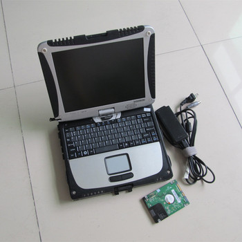 v10.53 alldata and mitchell software 2in1 installed in laptop toughbook cf19 hard disk 1000gb auto repair all data ready to use