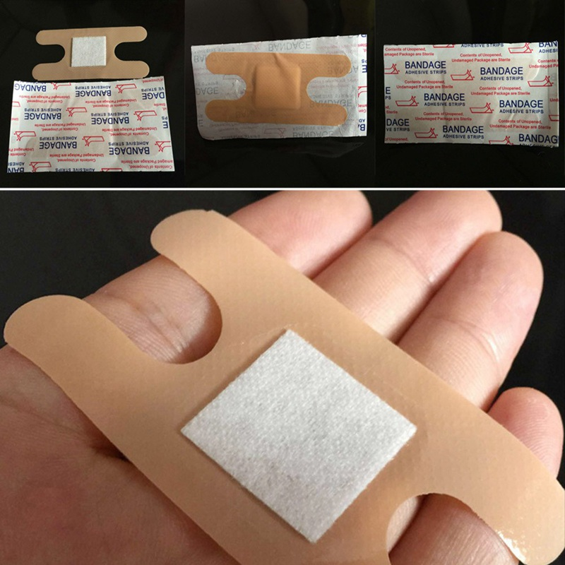 20Pcs/Lot First Aid Waterproof Wound Plaster  Band Aid For Home Travel First Aid Kit Emergency Kits