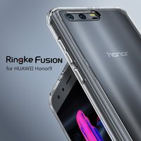 Ringke Fusion Huawei Honor 9 Case Crystal Clear PC Back Certified Military Grade Dropproof Hybrid Cases