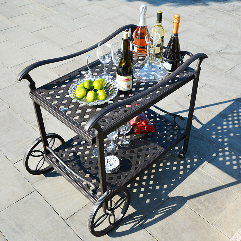 Cast-aluminum Dining Car Restaurant Car Diner Outdoor Furniture Patio Furniture Garden Furniture Dining Furniture
