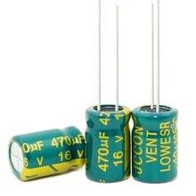 1000pcs~200pcs/lot  high-frequency crystal 16 V 470 UF 16 V470 UF 470 UF 16 V  470UF 16V470UF 8*12mm best quality New origina