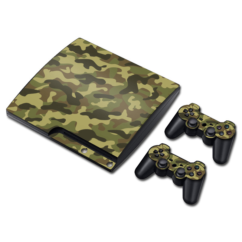 High Quality Game Vinyl Skin Stciker for PS3 slim Made in China