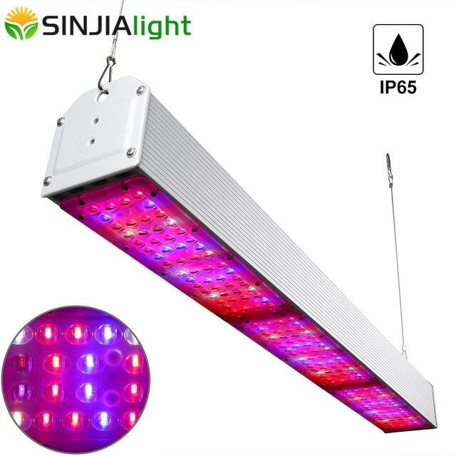 150W 300W 450W 600W 750W LED לגדול אור ספקטרום מלא עמיד למים IP65 צמיחת המנורה צמחי הידרופוניקה לגדול אוהל חממה