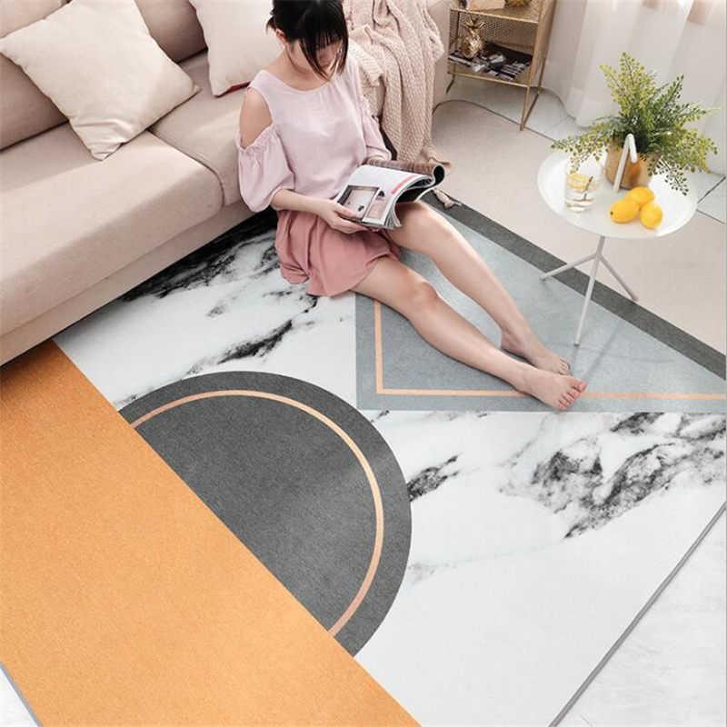 Nórdicos alfombras suaves para sala de estar dormitorio chico alfombras de Casa alfombra piso alfombras decoración niños alfombras de área delicado Mat