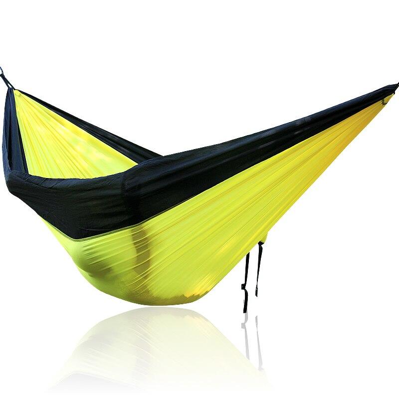 Outdoor Hammock Swing Seat Parachute Fabric Portable Hammock