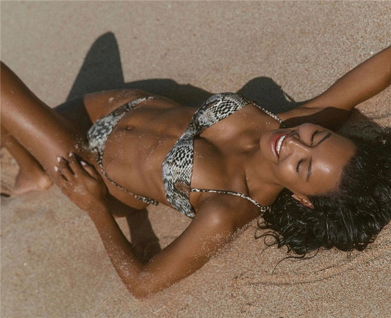 HTB1sgwDXFT7gK0jSZFpq6yTkpXaf Snake print bikini Push up swimsuit female bathing suit String thong Brazilian bikini 2019 High cut swimwear women Sexy biquini