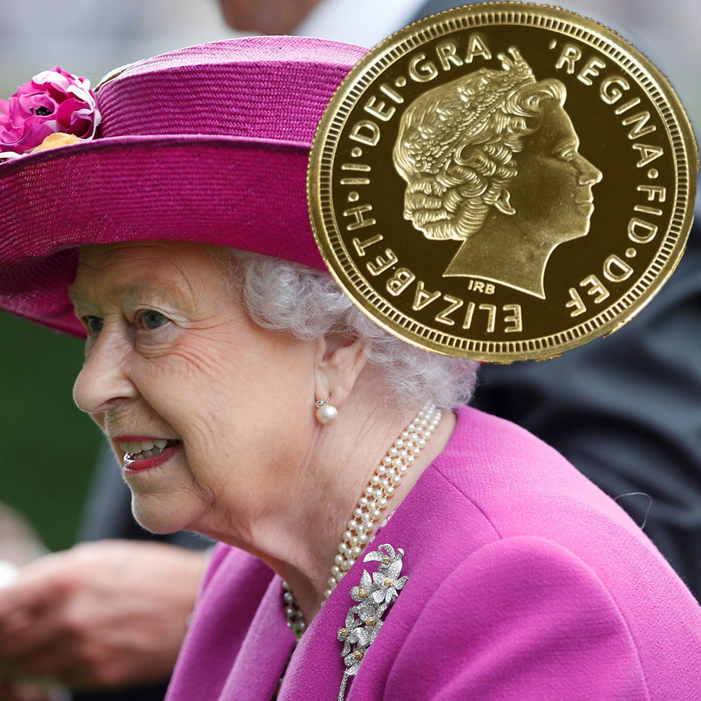 majesty queen elizabeth ii - 1000×1000