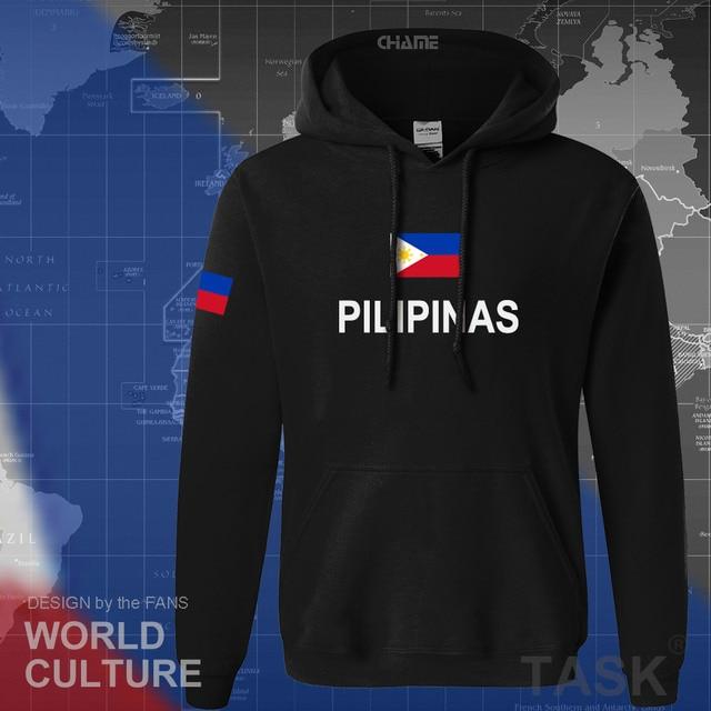 Philippines hoodies men sweatshirt sweat new hip hop streetwear clothing jerseys tracksuit nation Filipino flag PH Pilipinas 2
