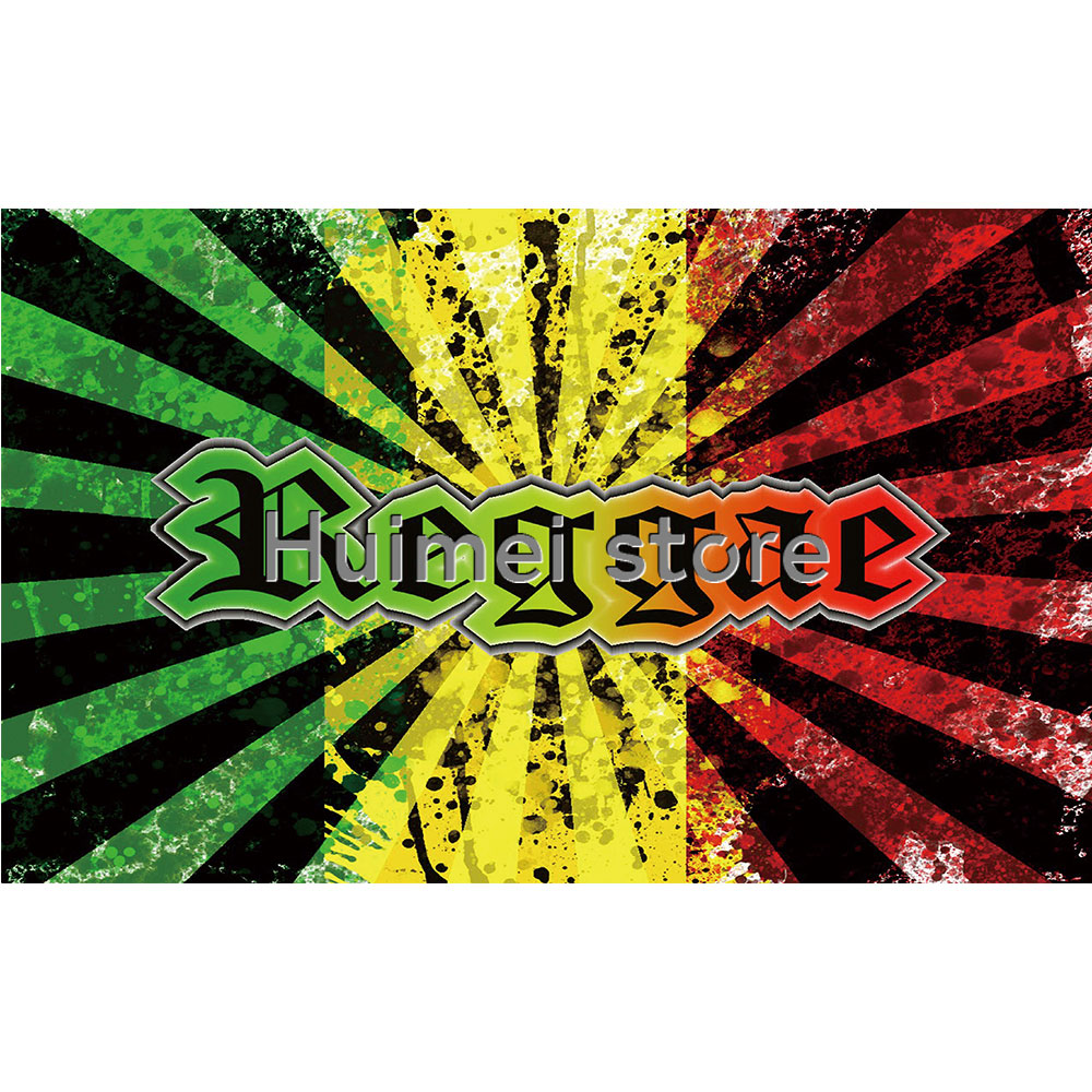 reggae rasta bob marley hippie band hanging flag and banner posters for bar party music festival tattoo shop decoration curtain in flags