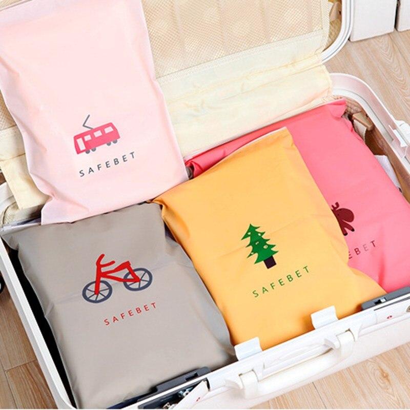 Cute Cartoon Cosmetic Bag Travel Makeup Case Small Elk Women Zipper MakeUp Bath Organizer Storage Pouch Toiletry Wash Beauty Box