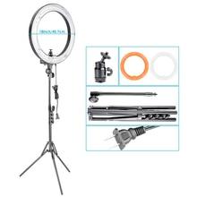 Neewer Dimmable Selfie Anneau Lumière Pouces 75 W 5500 K Anneau lampe de Poche + Stand Kit D'éclairage Pour Le Maquillage/YouTuber US Plug 110-130 V