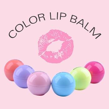 1PC Fruit scents Hydrating Lipstick cute Lip Care Nutritious Makeup Lip Gloss Ball Shape Moisturizer Moisturizing lip balm TSLM2 1
