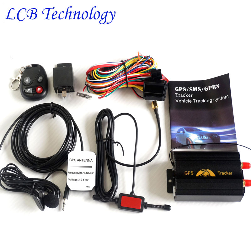 Free Shipping Pcslot Car Vehicle Motorcycle Gsm Gprs Gps Tracking For Car Tkb Realtime