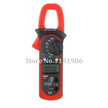 UNI-T UT203 UT 203 Digital Clamp Meter Multimeter Ohm DMM DC AC Current Voltmeter Frequency Temperature ut107 automotive multi purpose meters ut 107 uni t dmm accept free shipping