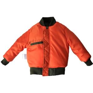 Image 5 - 2 12 yesars Children Clothes 2018 Winter Jackets For Boys Coat Kids Warm Ma 1 Bomber Flight Outerwear Coat Baby Jacket Clothing