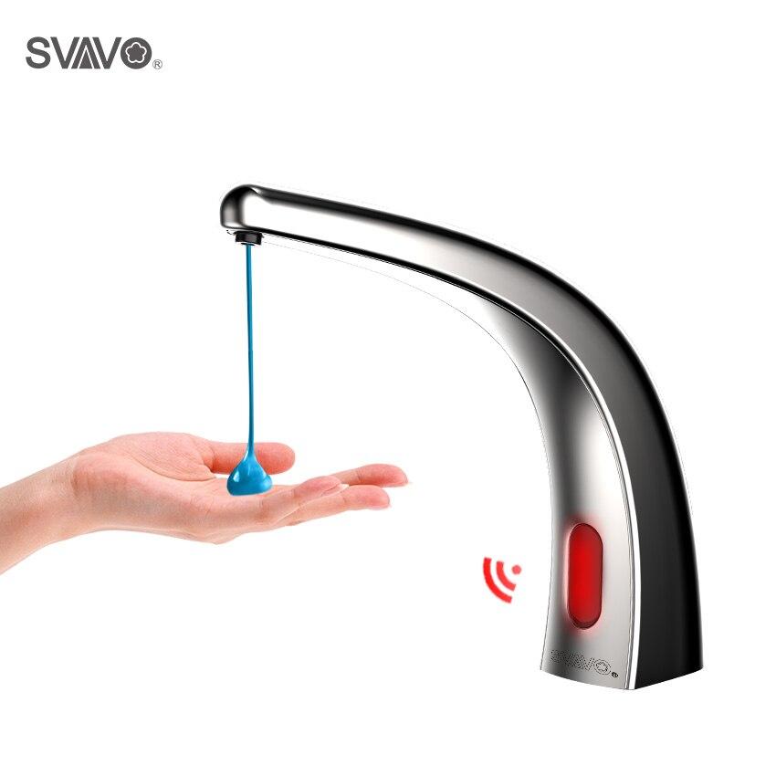 SVAVO distributeur automatique de savon désinfectant pour les mains distributeur de savon liquide sans contact avec Type de robinet