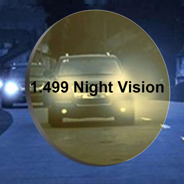b4d1e65def 1.499 CR-39 Polarized Myopia Night-Vision Lenses Prescription Polarized  Driving Glasses Lens High Definition High Transmittance