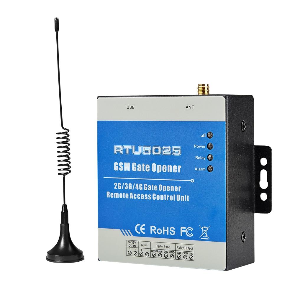 GSM Gate Opener Swing Sliding Garage Door Open Remote Controller for gates Support GPRS Communicate RTU5025