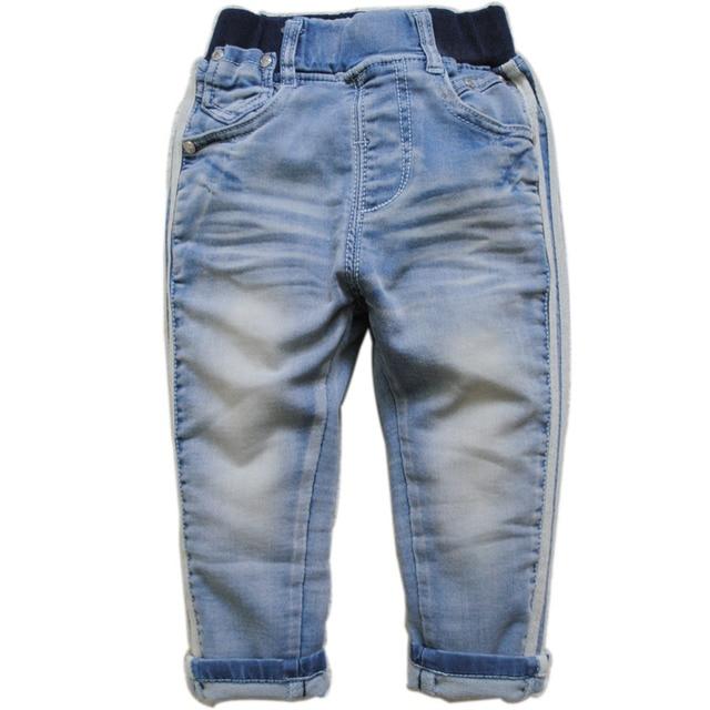 3906 2-3 лет мягкие джинсовые брюки повседневные брюки детские джинсы мальчиков джинсы дети trsouers детская одежда синий новая мода